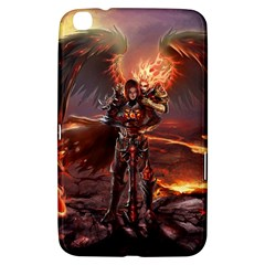 Fantasy Art Fire Heroes Heroes Of Might And Magic Heroes Of Might And Magic Vi Knights Magic Repost Samsung Galaxy Tab 3 (8 ) T3100 Hardshell Case
