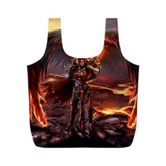 Fantasy Art Fire Heroes Heroes Of Might And Magic Heroes Of Might And Magic Vi Knights Magic Repost Full Print Recycle Bags (m)