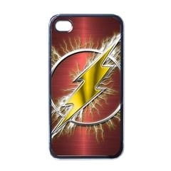 Flash Flashy Logo Apple Iphone 4 Case (black)