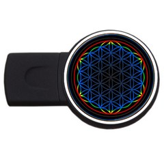 Flower Of Life Usb Flash Drive Round (4 Gb)