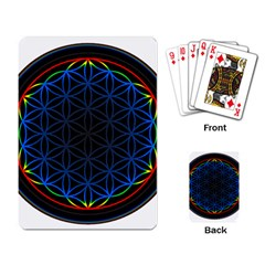 Flower Of Life Playing Card