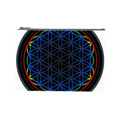 Flower Of Life Cosmetic Bag (large)