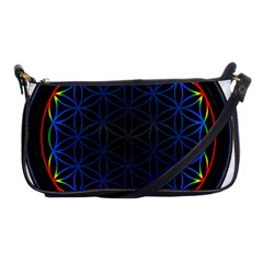Flower Of Life Shoulder Clutch Bags