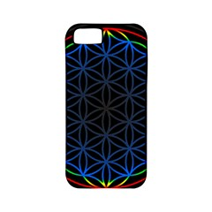 Flower Of Life Apple Iphone 5 Classic Hardshell Case (pc+silicone)