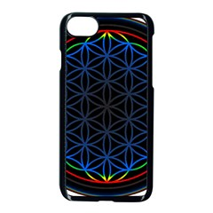 Flower Of Life Apple Iphone 8 Seamless Case (black)