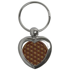 Flower Of Life Key Chains (heart)