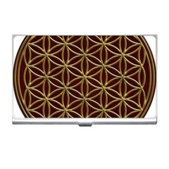 Flower Of Life Business Card Holders