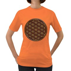 Flower Of Life Women s Dark T Shirt
