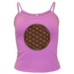 Flower Of Life Dark Spaghetti Tank