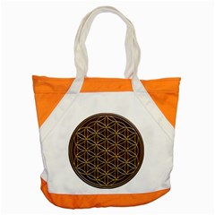 Flower Of Life Accent Tote Bag