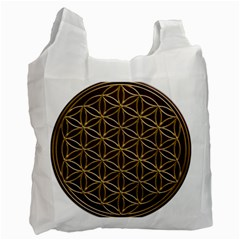 Flower Of Life Recycle Bag (two Side)