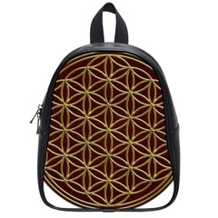 Flower Of Life School Bag (small)