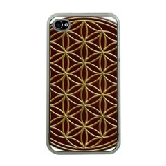 Flower Of Life Apple Iphone 4 Case (clear)
