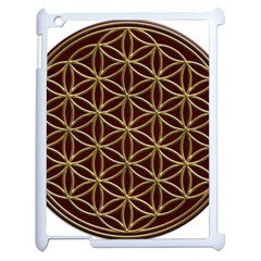 Flower Of Life Apple Ipad 2 Case (white)