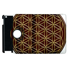 Flower Of Life Apple Ipad 2 Flip 360 Case