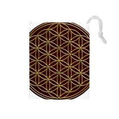 Flower Of Life Drawstring Pouches (medium)