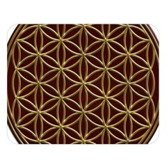 Flower Of Life Double Sided Flano Blanket (large)