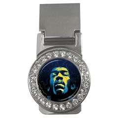 Gabz Jimi Hendrix Voodoo Child Poster Release From Dark Hall Mansion Money Clips (cz)  by Samandel