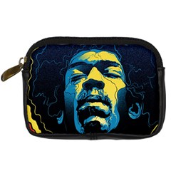 Gabz Jimi Hendrix Voodoo Child Poster Release From Dark Hall Mansion Digital Camera Cases