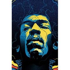 Gabz Jimi Hendrix Voodoo Child Poster Release From Dark Hall Mansion 5 5  X 8 5  Notebooks by Samandel