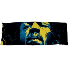 Gabz Jimi Hendrix Voodoo Child Poster Release From Dark Hall Mansion Body Pillow Case (dakimakura) by Samandel