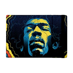 Gabz Jimi Hendrix Voodoo Child Poster Release From Dark Hall Mansion Apple Ipad Mini Flip Case by Samandel