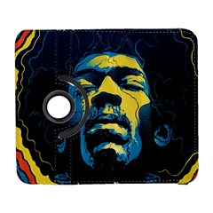 Gabz Jimi Hendrix Voodoo Child Poster Release From Dark Hall Mansion Galaxy S3 (flip/folio) by Samandel