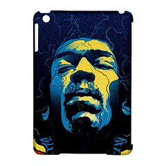 Gabz Jimi Hendrix Voodoo Child Poster Release From Dark Hall Mansion Apple Ipad Mini Hardshell Case (compatible With Smart Cover) by Samandel