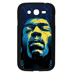 Gabz Jimi Hendrix Voodoo Child Poster Release From Dark Hall Mansion Samsung Galaxy Grand Duos I9082 Case (black)