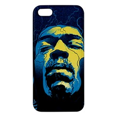 Gabz Jimi Hendrix Voodoo Child Poster Release From Dark Hall Mansion Iphone 5s/ Se Premium Hardshell Case