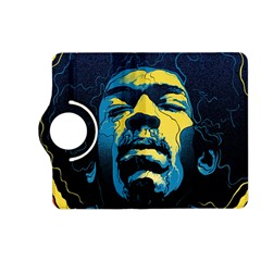 Gabz Jimi Hendrix Voodoo Child Poster Release From Dark Hall Mansion Kindle Fire Hd (2013) Flip 360 Case by Samandel