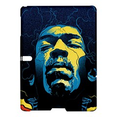 Gabz Jimi Hendrix Voodoo Child Poster Release From Dark Hall Mansion Samsung Galaxy Tab S (10 5 ) Hardshell Case  by Samandel