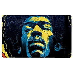 Gabz Jimi Hendrix Voodoo Child Poster Release From Dark Hall Mansion Apple Ipad Pro 9 7   Flip Case by Samandel