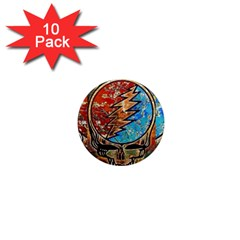 Grateful Dead Rock Band 1  Mini Magnet (10 Pack)