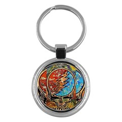 Grateful Dead Rock Band Key Chains (round)