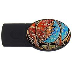 Grateful Dead Rock Band Usb Flash Drive Oval (4 Gb)