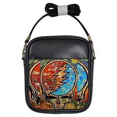 Grateful Dead Rock Band Girls Sling Bags
