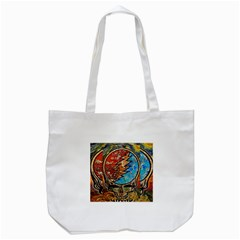 Grateful Dead Rock Band Tote Bag (white)
