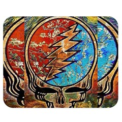 Grateful Dead Rock Band Double Sided Flano Blanket (medium)