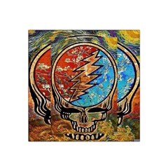 Grateful Dead Rock Band Satin Bandana Scarf