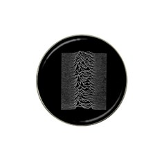 Grayscale Joy Division Graph Unknown Pleasures Hat Clip Ball Marker