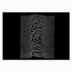 Grayscale Joy Division Graph Unknown Pleasures Large Glasses Cloth