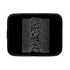 Grayscale Joy Division Graph Unknown Pleasures Netbook Case (small)
