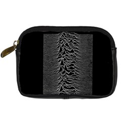 Grayscale Joy Division Graph Unknown Pleasures Digital Camera Cases