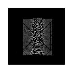 Grayscale Joy Division Graph Unknown Pleasures Acrylic Tangram Puzzle (6  X 6 )