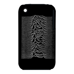 Grayscale Joy Division Graph Unknown Pleasures Iphone 3s/3gs