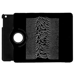 Grayscale Joy Division Graph Unknown Pleasures Apple Ipad Mini Flip 360 Case
