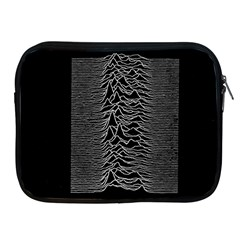 Grayscale Joy Division Graph Unknown Pleasures Apple Ipad 2/3/4 Zipper Cases by Samandel