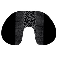 Grayscale Joy Division Graph Unknown Pleasures Travel Neck Pillows