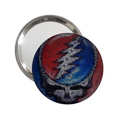 Grateful Dead Logo 2 25  Handbag Mirrors